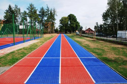 Realizace nového školní hřiště