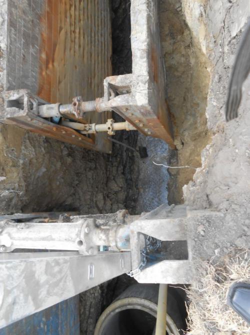stavba kanalizace 2016-2017