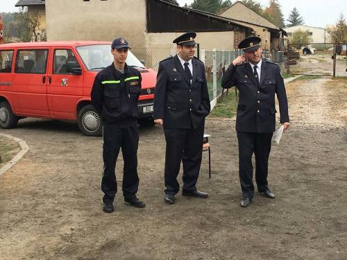 Výročí 100 let české státnosti a uctění památky padlým hasičům