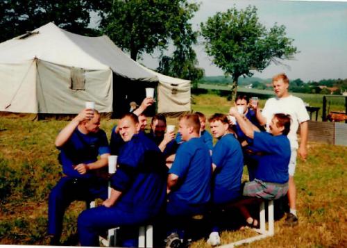 Okrsková soutěž na Vlkavě 2003