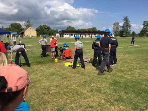 Okrsková soutěž hasičů ve Struhách 2019